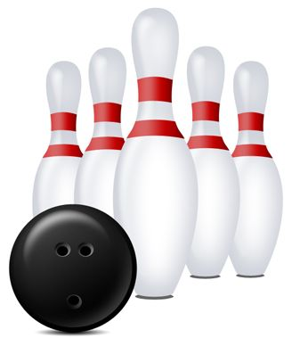 Le bowling images de boules et quilles for Decoration quille de bowling